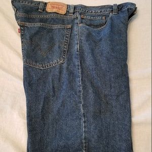 Levis SZ 40 Men 550 Relaxed Fit 100% Cotton Denim